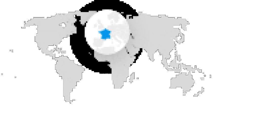 Localisation métropole et Europe