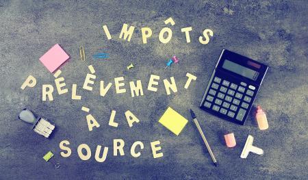 impôt à la source