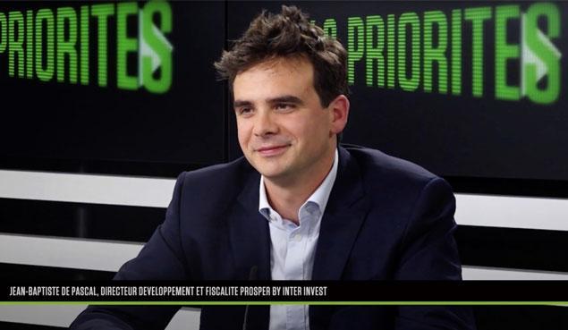 Interview de Jean-Baptiste de Pascal, Directeur Développement et Fiscalité, pour B SMART