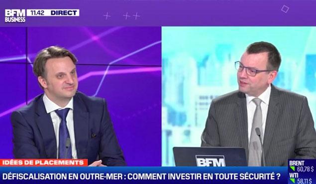 Interview de Benoit Petit, Directeur Général du Groupe Inter Invest, pour BFM Patrimoine